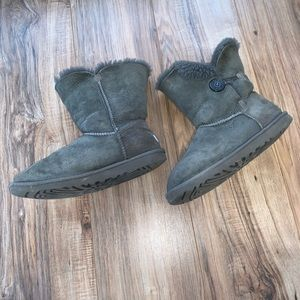 Bailey Button UGG boots gray